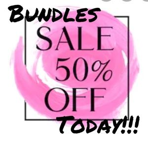 Dresses & Skirts - Bundle three or more items, and receive 50% off!